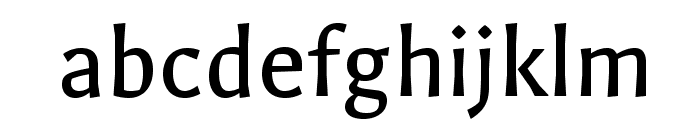 Galdeano-Regular Font LOWERCASE