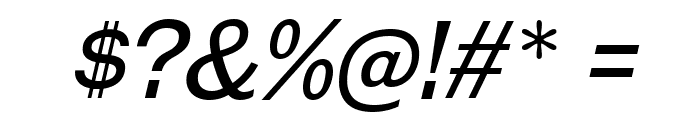 GalderglynnTitlingBk-Italic Font OTHER CHARS
