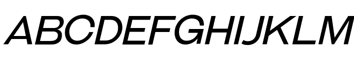 GalderglynnTitlingBk-Italic Font UPPERCASE