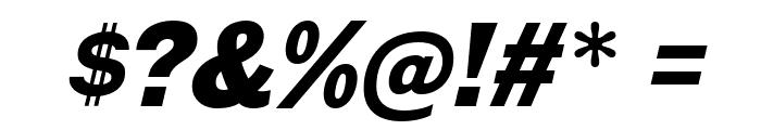 GalderglynnTitlingBl-Italic Font OTHER CHARS