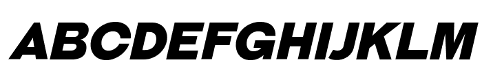 GalderglynnTitlingBl-Italic Font UPPERCASE