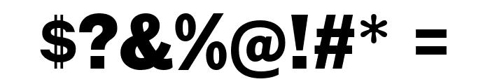 GalderglynnTitlingBl-Regular Font OTHER CHARS