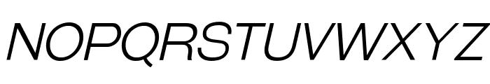 GalderglynnTitlingLt-Italic Font UPPERCASE