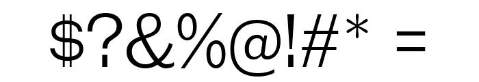 GalderglynnTitlingLt-Regular Font OTHER CHARS