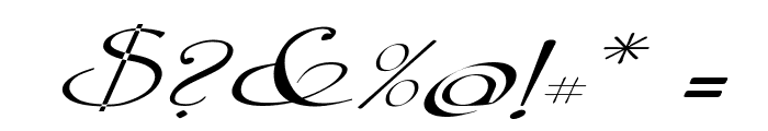 Galer?a Coru?a 2008 by Lage EXT NRM Italic Font OTHER CHARS