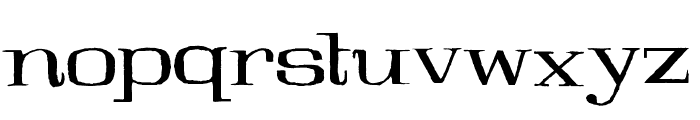 Galeries Font LOWERCASE