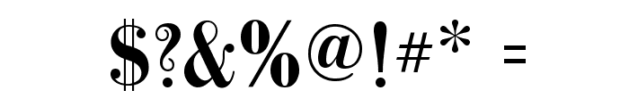 GalileoFLF-Bold Font OTHER CHARS