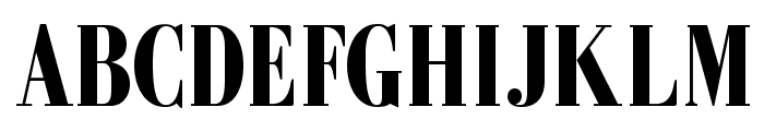 GalileoFLF-Bold Font UPPERCASE