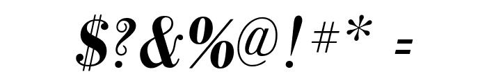 GalileoFLF-BoldItalic Font OTHER CHARS