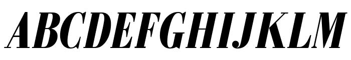 GalileoFLF-BoldItalic Font UPPERCASE