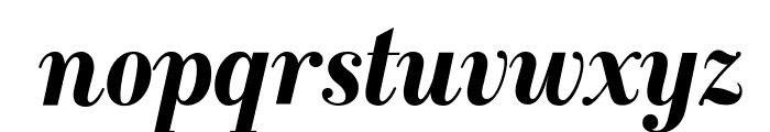 GalileoFLF-BoldItalic Font LOWERCASE