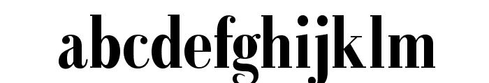 GalileoFLF-Bold Font LOWERCASE
