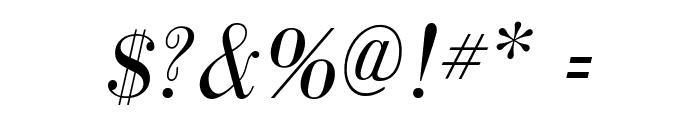 GalileoFLF-Italic Font OTHER CHARS