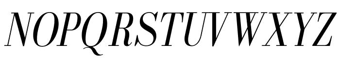 GalileoFLF-Italic Font UPPERCASE