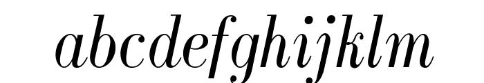 GalileoFLF-Italic Font LOWERCASE
