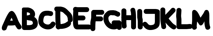Galla Black Font UPPERCASE