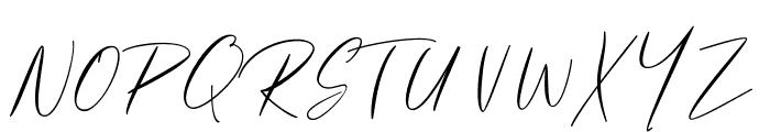 Gallactica Font UPPERCASE