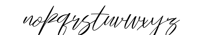 Gallactica Font LOWERCASE