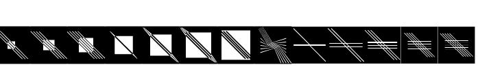 GalleriaGeometricaB Font UPPERCASE