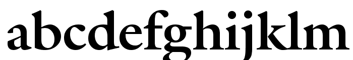Galliard Bold BT Font LOWERCASE