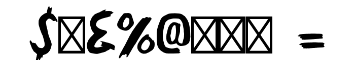 GallowTree-Regular Font OTHER CHARS