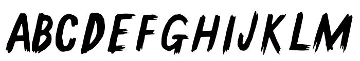 GallowTree-Regular Font UPPERCASE