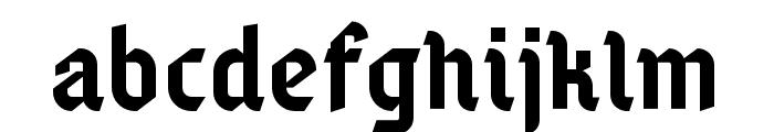 Gamaliel Font LOWERCASE