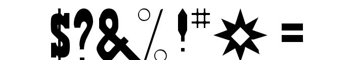 Gambler Font OTHER CHARS