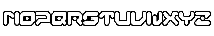 Gameboy Gamegirl Font UPPERCASE