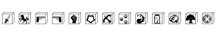 Gamedings Font LOWERCASE