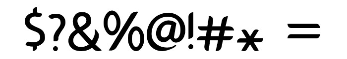 Gamelan Font OTHER CHARS