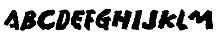 Gamera Font UPPERCASE