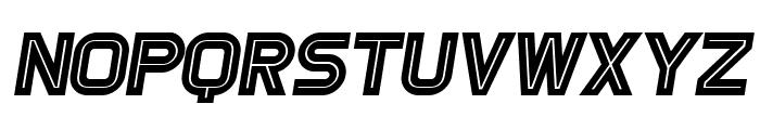 Games Italic Font UPPERCASE