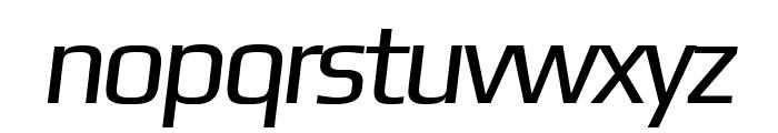 Gamestation-DisplayOblique Font LOWERCASE