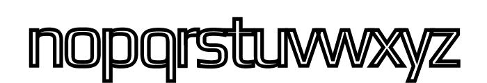 Gamestation-DisplayOutline Font LOWERCASE