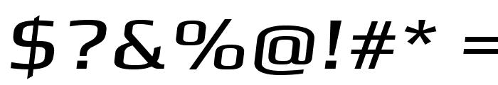 Gamestation-ExtendedOblique Font OTHER CHARS