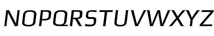 Gamestation-StormOblique Font UPPERCASE