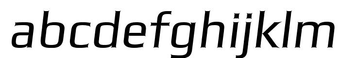 Gamestation-StormOblique Font LOWERCASE