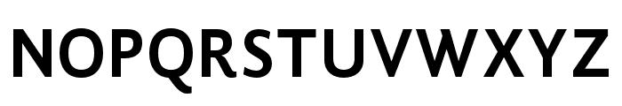 GandhiSans-Bold Font UPPERCASE