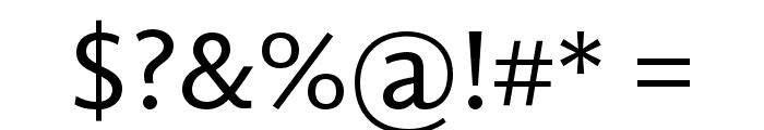GandhiSans-Regular Font OTHER CHARS