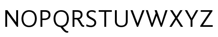 GandhiSans-Regular Font UPPERCASE