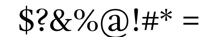 GandhiSerif-Regular Font OTHER CHARS