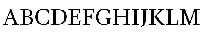 GandhiSerif-Regular Font UPPERCASE