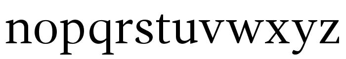 GandhiSerif-Regular Font LOWERCASE