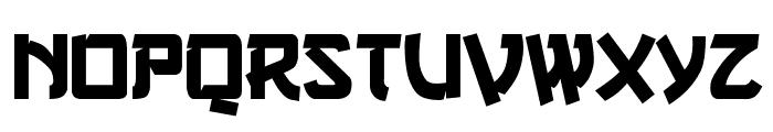 Gang of Three Font UPPERCASE