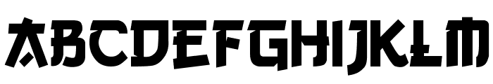 Gang of Three Font LOWERCASE