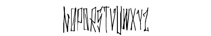 GanstaWalk Font LOWERCASE