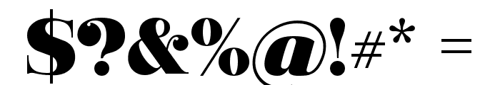 Ganton Font OTHER CHARS