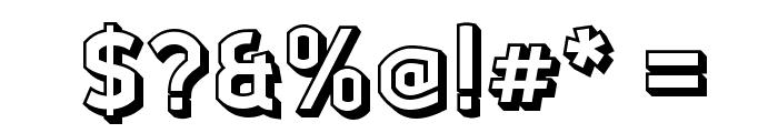 Ganymede3D Font OTHER CHARS