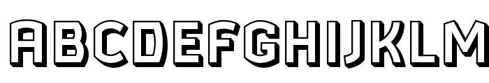 Ganymede3D Font UPPERCASE